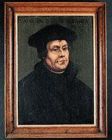 Martin Luther nach einem Porträt Lucas Cranachsd. Ä.