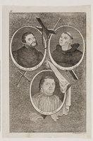 Dreifaches Porträt Luthers