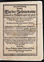 Wie die Jesuiten eine Komödie zu Molsheim agiert und [...] Luther durch einen Teufel zerreissen wollen